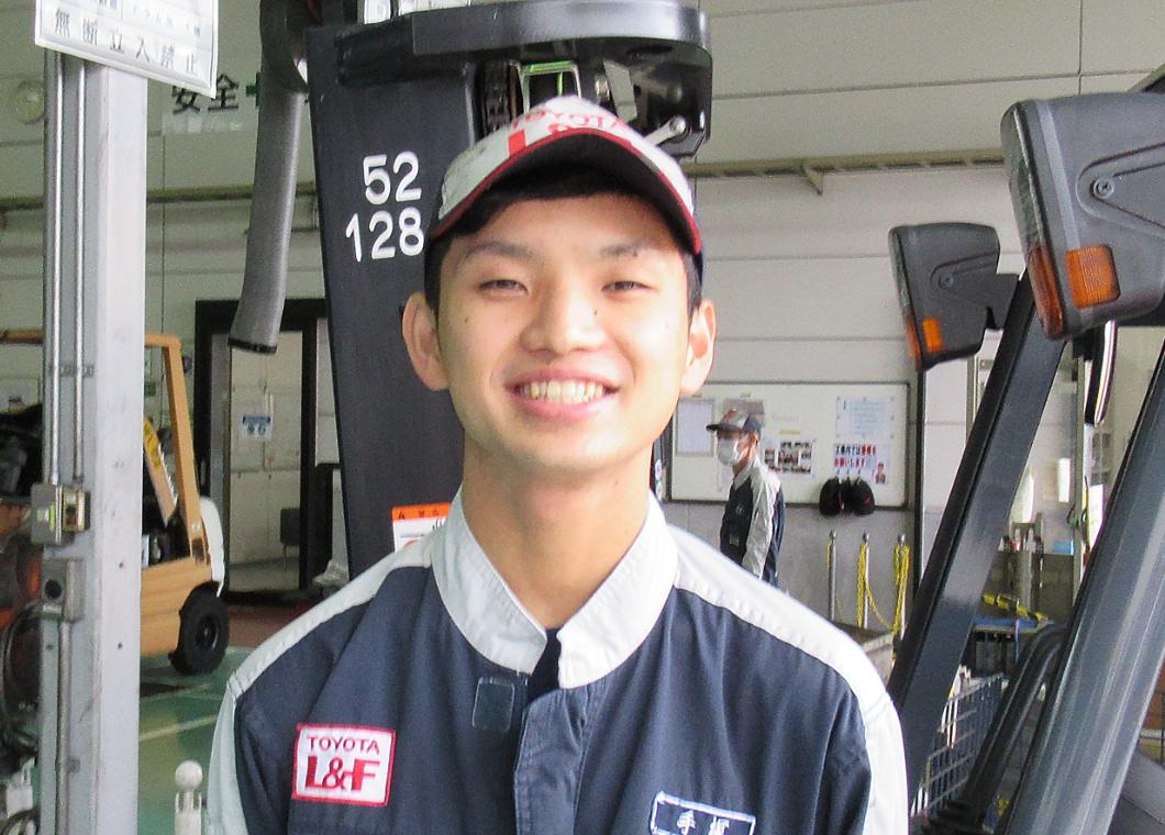刈谷営業所 手塚 大晴さんの画像